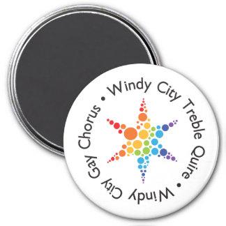 Logo magnet