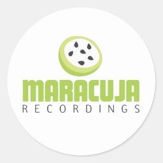 logo_maracuja.ai classic round sticker