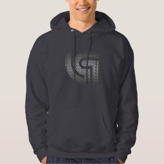 Logo_Mask_Grey_Sweatshirt Hoodie