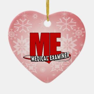 LOGO ME ACRONYM MEDICAL EXAMINER CHRISTMAS ORNAMENT
