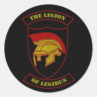 Logo of Legibus Classic Round Sticker