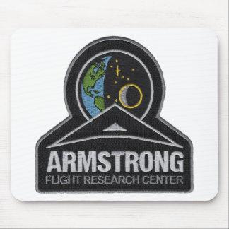 Logo of NASA's AFRC Mouse Pad
