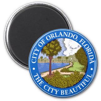 Logo of Orlando, Florida 6 Cm Round Magnet