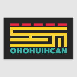 Logo OHOHUIHCAN Rectangular Sticker