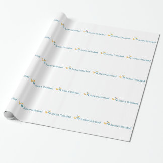 Logo Pattern Wrapping Paper