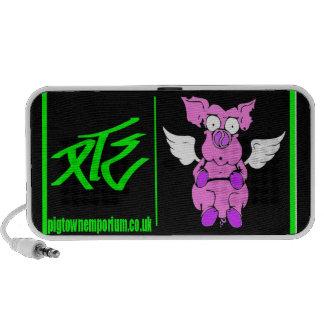 logo portable speaker