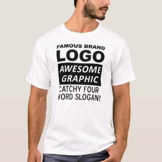 Logo Slogan Funny T-Shirt