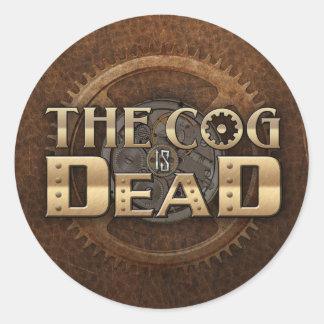 Logo Sticker Leather Background