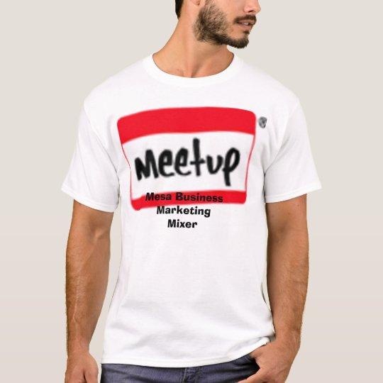 logo_tilt_small_1, Mesa Business Marketing Mixer T-Shirt