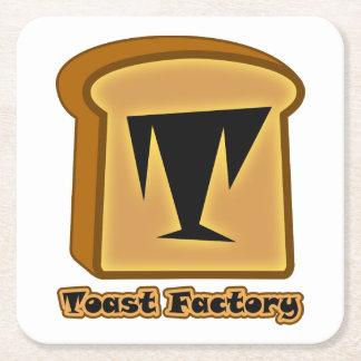 Logo Toastie Noob White Coasters