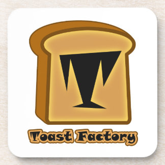 Logo Toastie Pro White Coasters