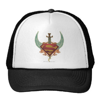 Logo with Wings Mesh Hat