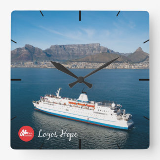Logos Hope in Cape Town Clock