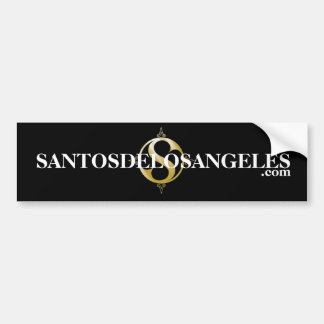 LOGOsymbol, SANTOSDELOSANGELES, .com Bumper Sticker