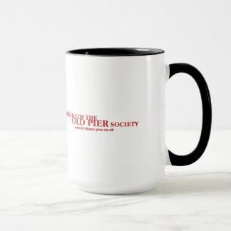Logotype & URL Red Mug