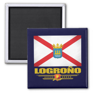 Logrono Square Magnet
