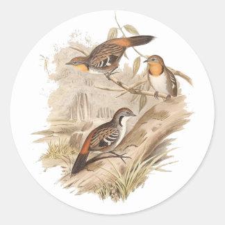 Logrunner Sticker