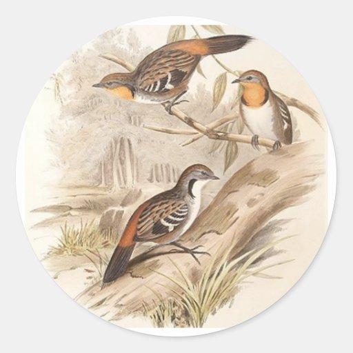 Logrunner Round Sticker