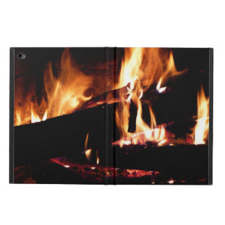 Logs in the Fireplace Warm Fire Photography Powis iPad Air 2 Case