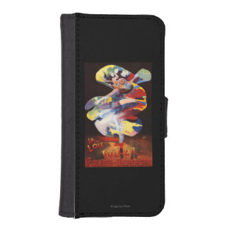Loie Fuller at Folies-Bergere Theatre iPhone SE/5/5s Wallet Case