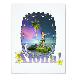 Loihi Aloha Invitation Announcements