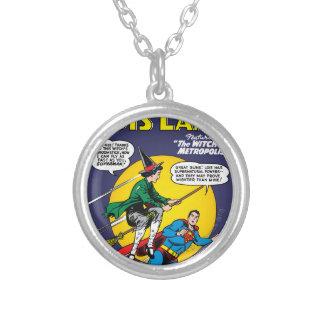 Lois Lane #1 Round Pendant Necklace