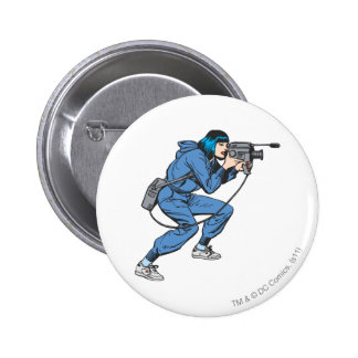 Lois Lane with Camera 6 Cm Round Badge