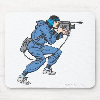Lois Lane with Camera Mouse Mat