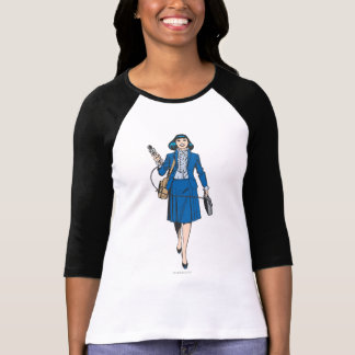 Lois Lane with Microphone T-Shirt