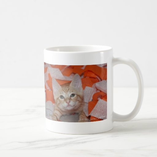 Loki in Orange & White Coffee Mug
