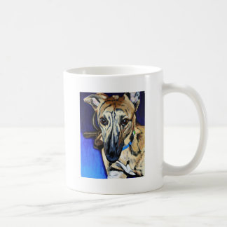 Loki - Lurcher dog Coffee Mug