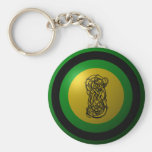 Loki Shield Round Keychain