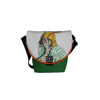 Loki, the god Viking Courier Bags