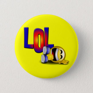 LOL 6 CM ROUND BADGE