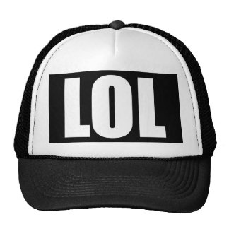 LOL Black and White Hat