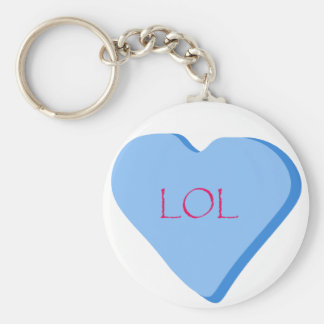 LOL Candy Heart Key Ring