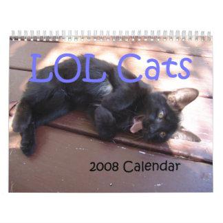 LOL Cats 2008 Calendar