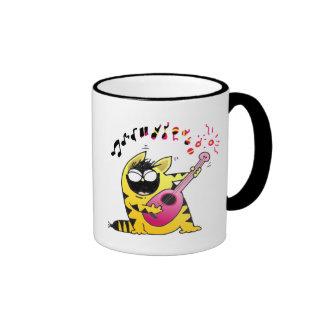LOL Cats | Fat Musical Cat Ringer Mug