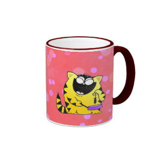 LOL Cats Ringer Mug