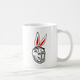 LOL - Easter Bunny edition internet meme Basic White Mug