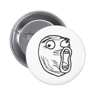 LOL Face 6 Cm Round Badge