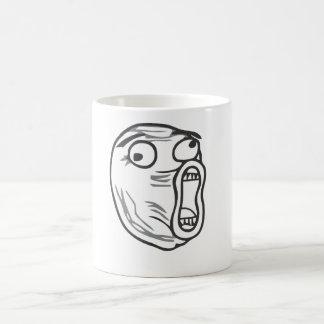 LOL Face Basic White Mug