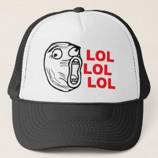 lol face meme humor rofl omg omfg trucker hat