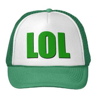 LOL green Cap