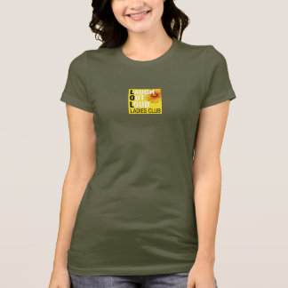 LOL Ladies Club T-Shirt - Small Logo Center Front
