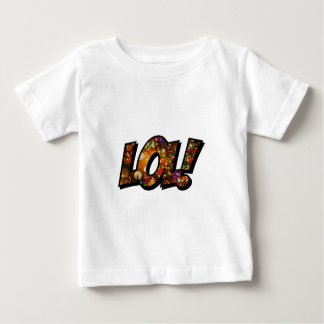 LOL Laugh Out Loud Bokeh Baby T-Shirt