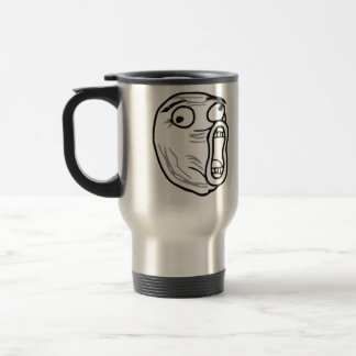LOL Laugh Out Loud Rage Face Meme Coffee Mug