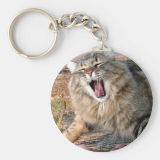 LOL Maine Coon Key Ring