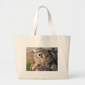 LOL Maine Coon Large Tote Bag