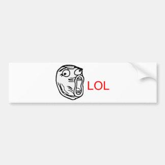 LOL - meme Bumper Stickers